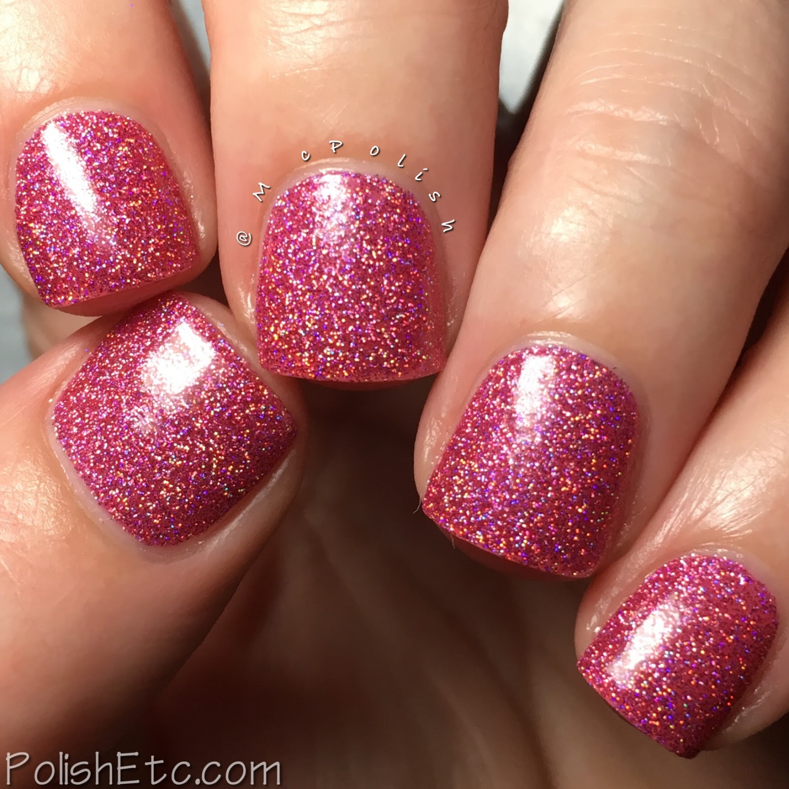 Nine Zero Lacquer - Valentine's Day Trio - McPolish - A Night In