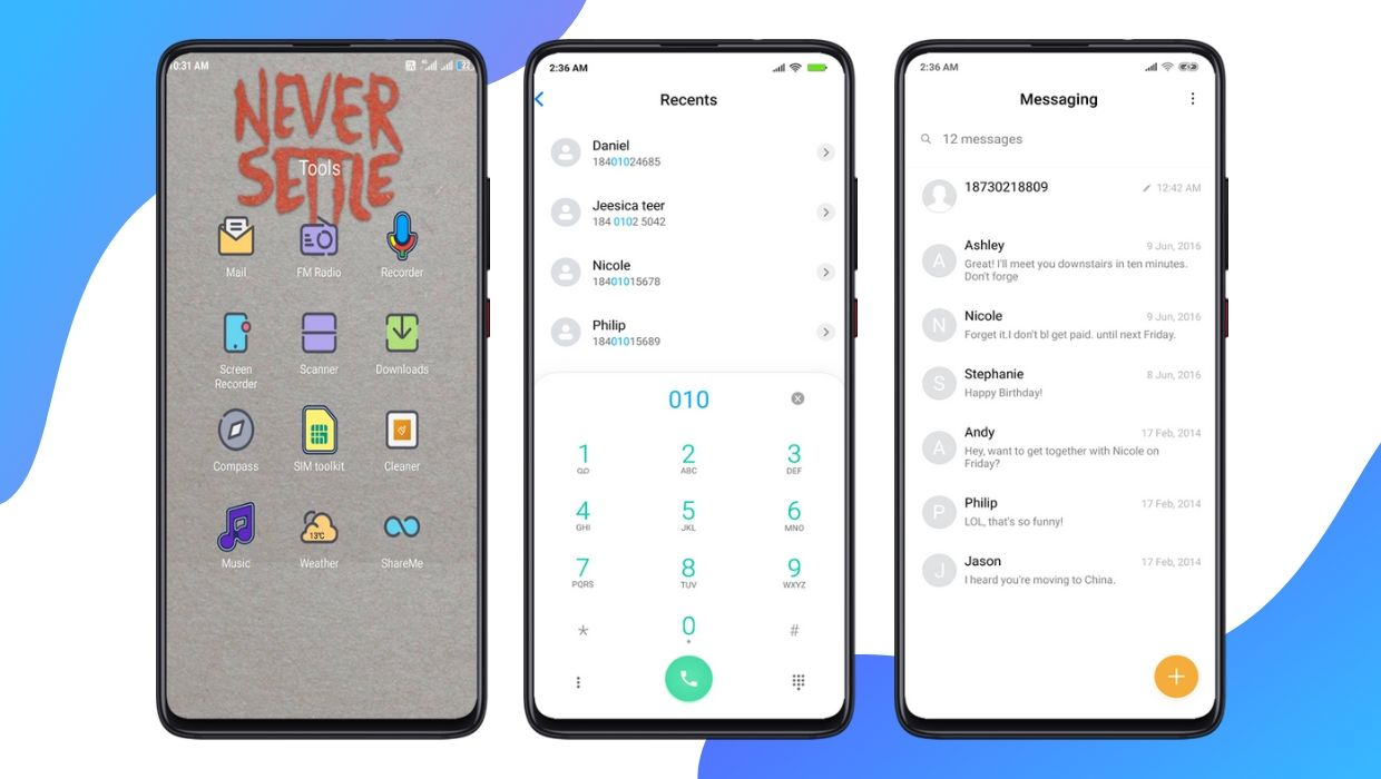 Best Oxygen OS MIUI Theme for All Xiaomi Devices | OxyGen Plus V11