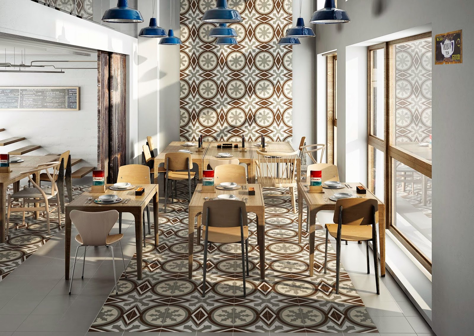 Aparici Vanguard embraces bold pattern