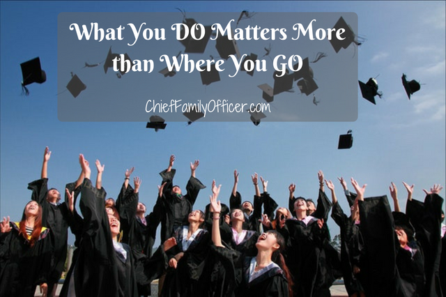 What You DO Matters More than Where You GO