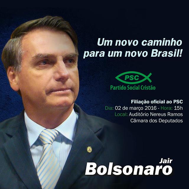 Agora é oficial, Jair Bolsonaro não é mais do PP