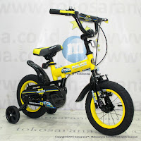 Sepeda Anak Element 911 Police BMX 12 Inci