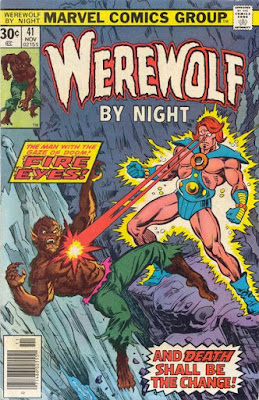 Werewolf by Night #41, Fire Eyes