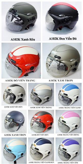 Mũ bảo hiểm GRS A102K thời trang chính hãng Sài Gòn