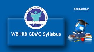 WBHRB GDMO Syllabus