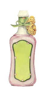 vintage Avon illustration beauty product