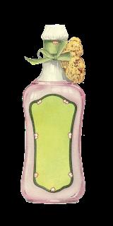vintage Avon illustration beauty product