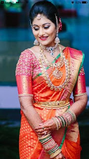 Complet Set of Saree on Diwali