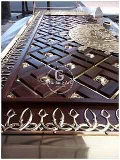Kerajinan pintu masjid nabawi