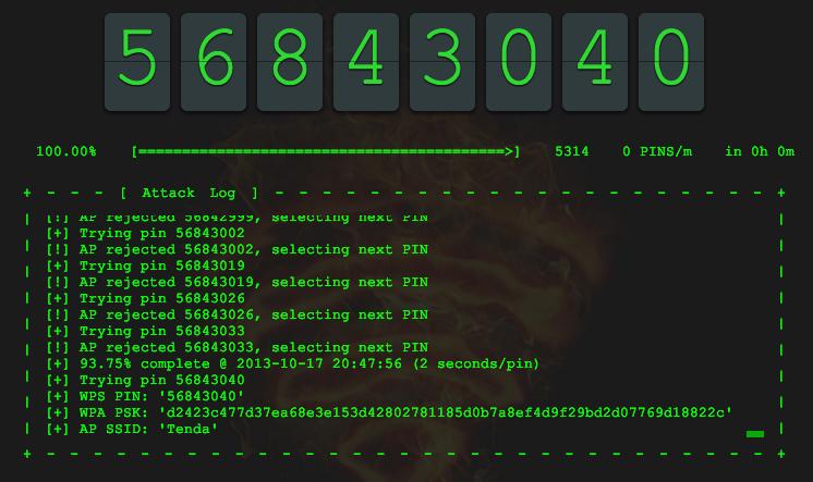إكشاف ثغرة جديدة في خدمة WPS تسمح بعمل OFFLINE ATTACK