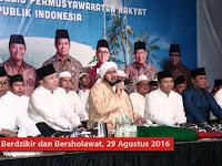 Pertama Dalam Sejarah, MPR RI Berdzikir dan Bersholawat Bersama Habib Syech