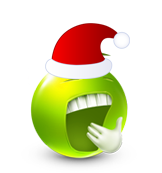 Christmas Smiley Icon 8