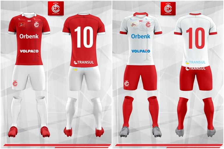 cab177cae9 Confira os uniformes que o Inter de Lages vai usar no Campeonato Catarinense