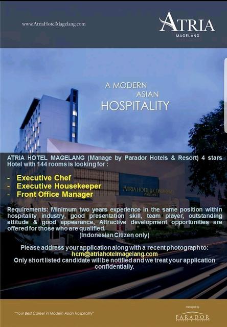 Lowongan kerja hotel