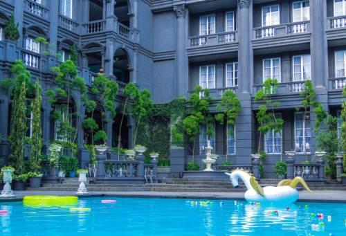 Hotel GH Universal hotel yang didesain negara Italia