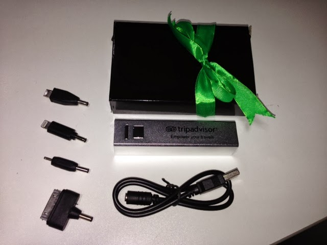 Trip Advisor Emergency Charger Promotional Gift