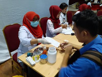 Donor Darah Ramadhan: Kolaborasi KSR, PMK, KMK, dan KMHB