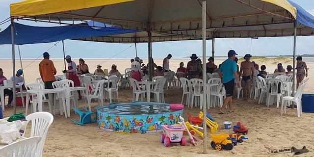 Croa do Goré, Catamarã, Aracaju, Sergipe, Ilha dos Namorados