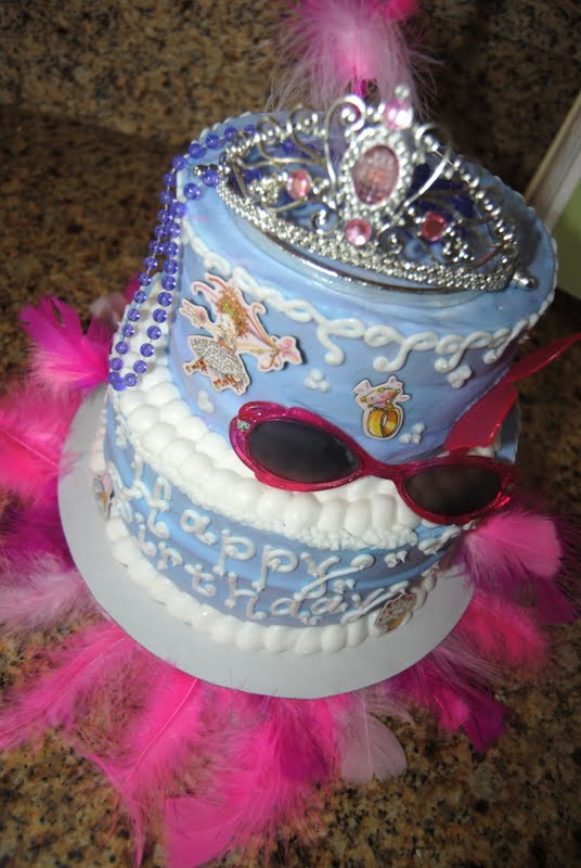 baked by ash Fancy Nancy Cake