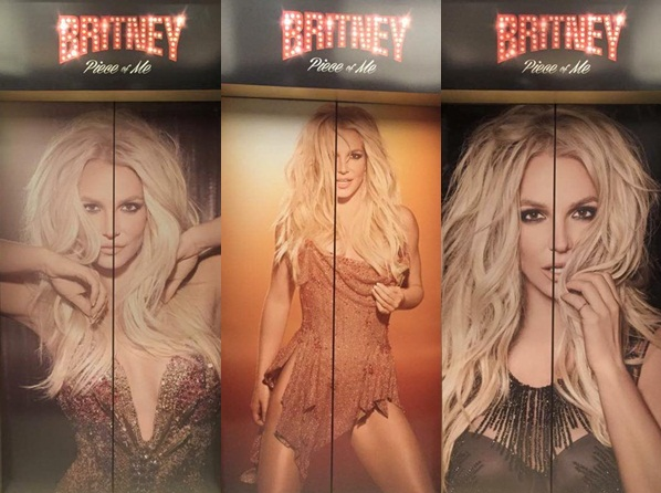 La publicidad de Jennifer Lopez en Las Vegas fue sustituida por  Britney Spears
