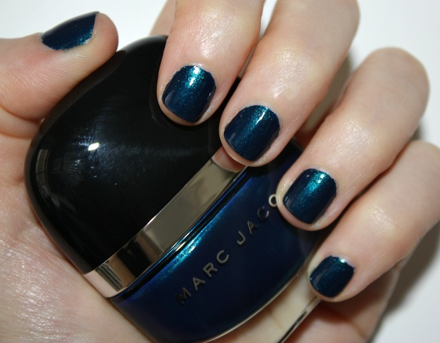 A Little Bit Etc Sunday Nailday Marc Jacobs Blue Velvet