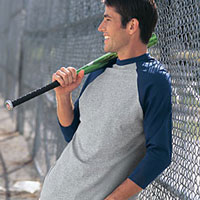 Baseball Tee Wholesale Apparel for Screen Printing and Customizing