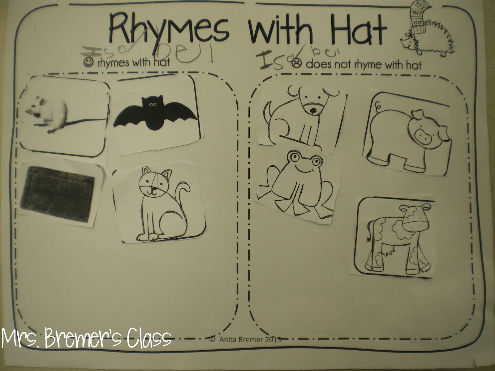 Mrs Bremer S Class Winter Write The Room The Hat And More Winter Literacy Fun
