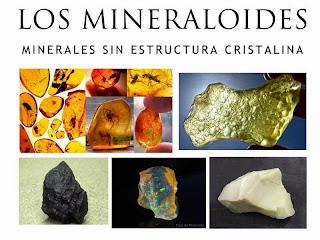 Los mineraloides - minerales sin estructura cristalina | foro de minerales