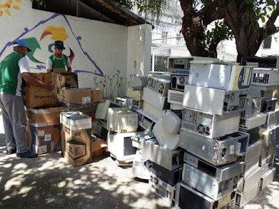 Projeto da CPRM recicla mais de 3,5 toneladas de materiais inservíveis