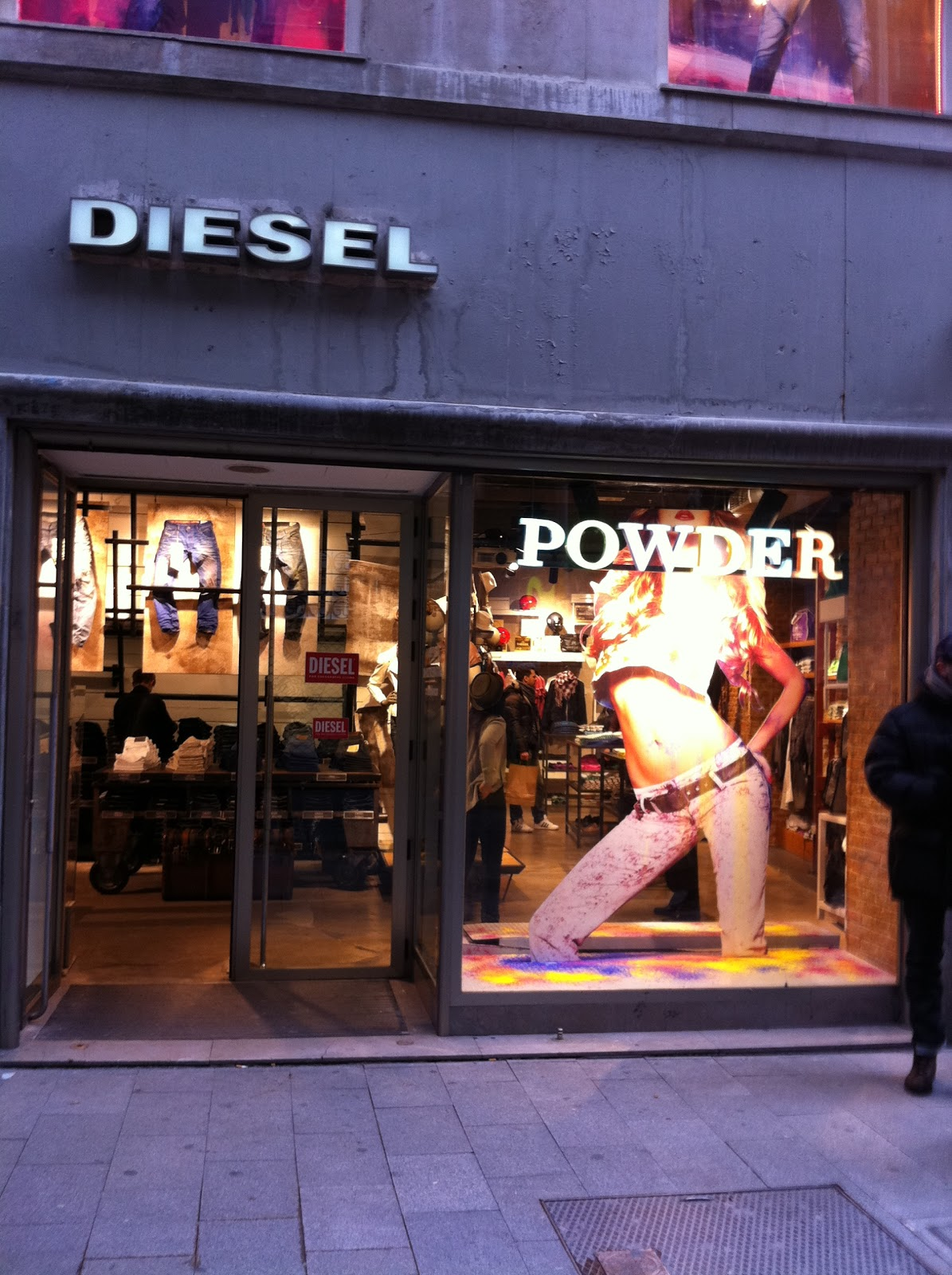 7d12af8d The Men's Things: DIESEL Presents the new powder & dirty denim ...