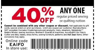 Hancock fabrics printable coupons november 2016 for American frame coupon code