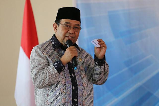 Ketua BPK Sebut Ali Mukhni Salah Satu Bupati Terbaik Indonesia
