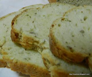 Νόστιμο σπιτικό ψωμί για τοστ