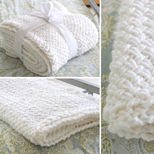 Beautiful Skills - Crochet Knitting Quilting : Knit a Blanket with ...