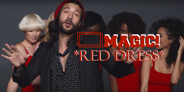 Lirik lagu Red Dress Magic! dan terjemahan