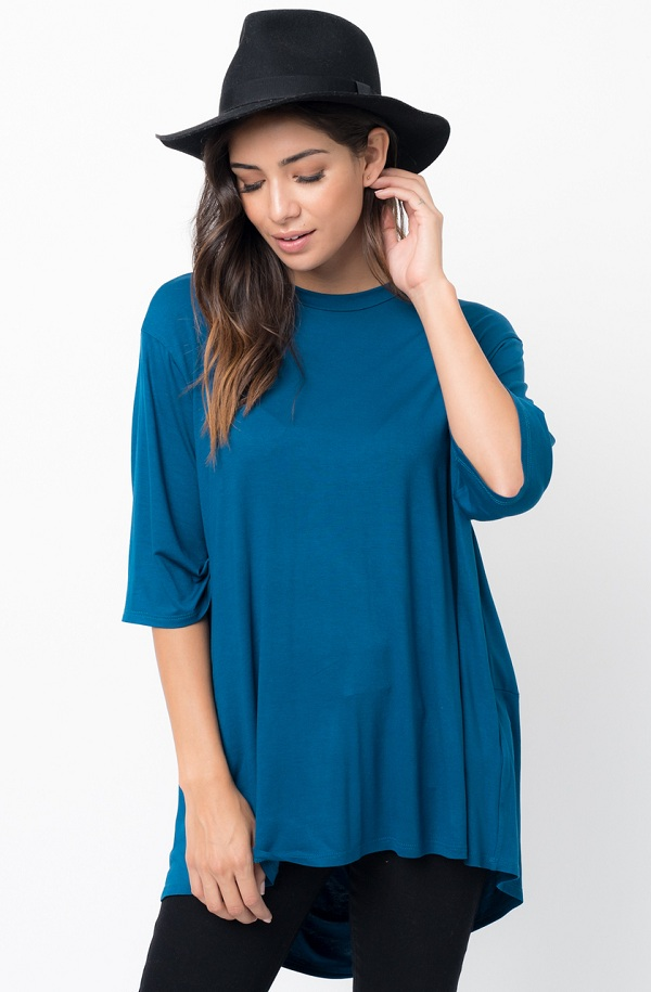 pin tuck tunic