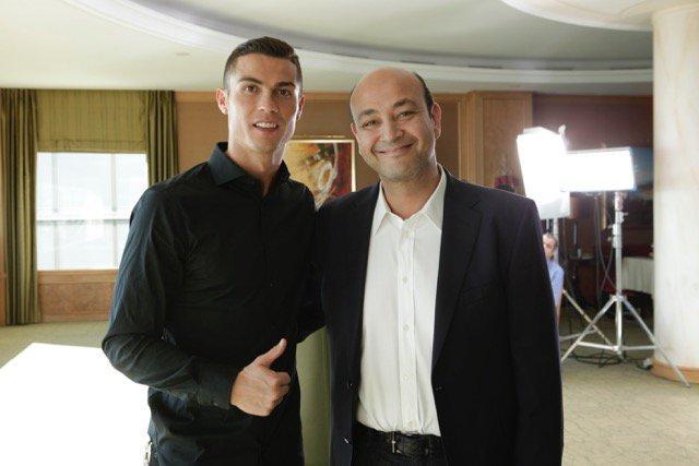 """تعرف علي المبلغ الذي حصل عليه """"رونالدو"""" للظهور مع عمرو أديب مبلغ مهوول جدا نظير لقاء مدته 30 دقيقة فقط !"""