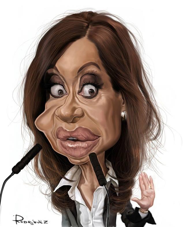 Cristina Fernández de Kirchner por Maxi Rodríguez