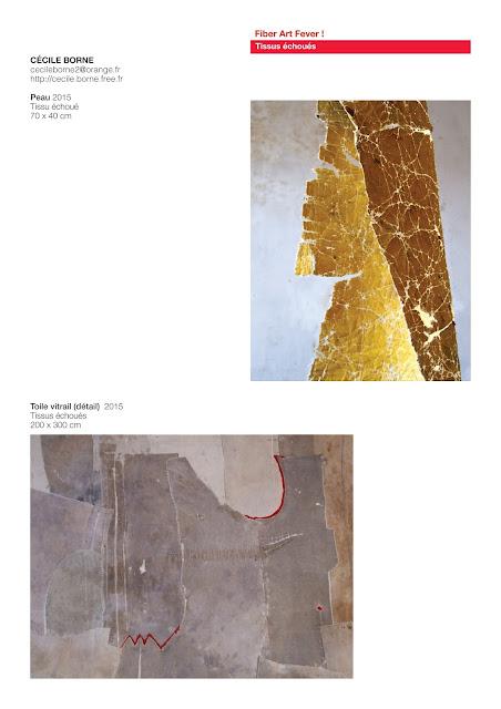 tableaux avec tissus