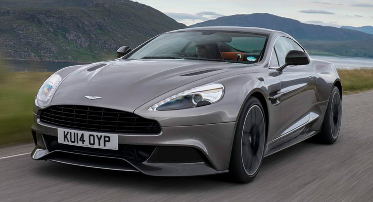 aston martin 39 s new vantage and vanquish coming before 2018. Black Bedroom Furniture Sets. Home Design Ideas