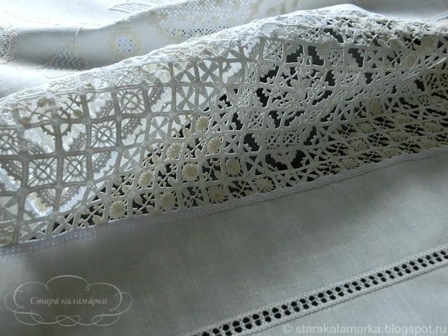 ретичелло, итальянская вышивка, старинная вышивка, плетение иглой