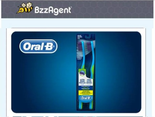 Bzzagent Oral B Pro-Health Compact Clean