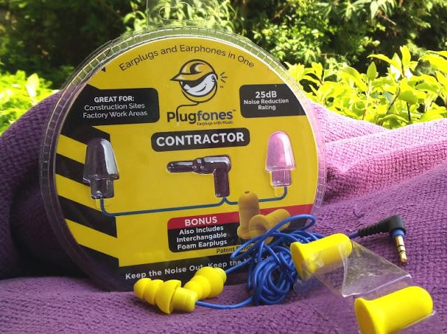 Plugfones Dissonance Blocking Earplugs Amongst Earphones Built-In!
