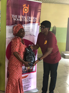Royal Diadem Conducts charity fair, gives out clothes and food items