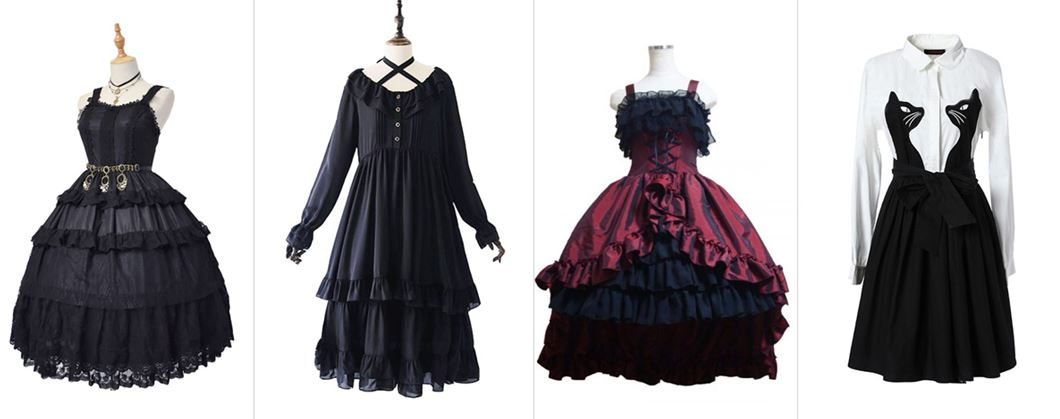 55e4260c0cfcd The blouses or shirts worn together with skirts are usually lace-trimmed or  ruffled in Victoria style. Sweet Lolita