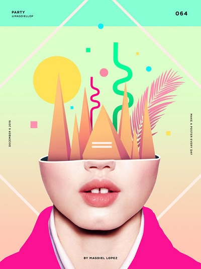 "por Magdiel Lopez, ""Party"" 