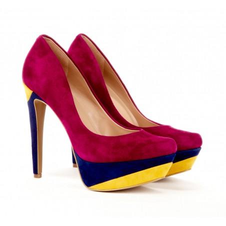 Purple Sole Shoes Mens