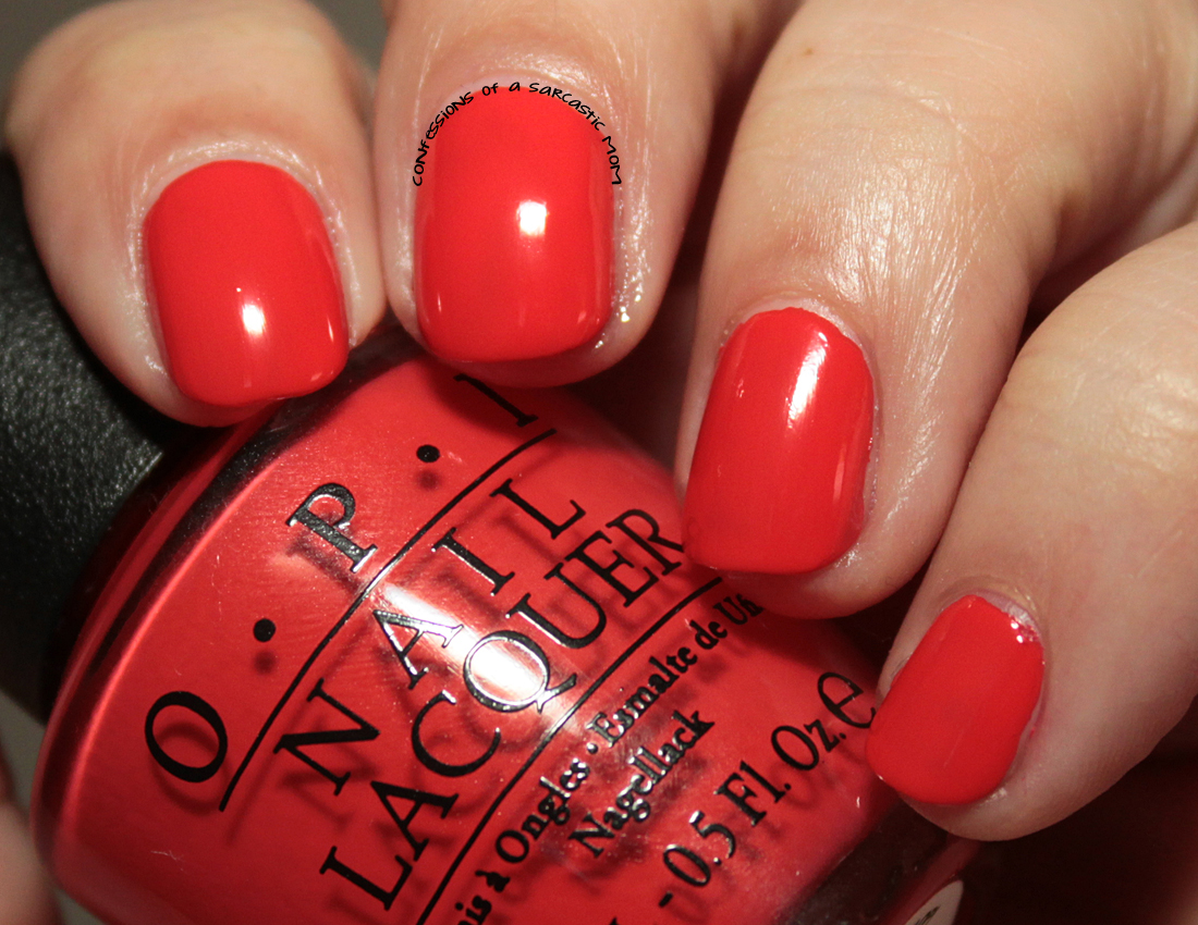 OPI Hawaii Collection - Confessions of a Sarcastic Mom