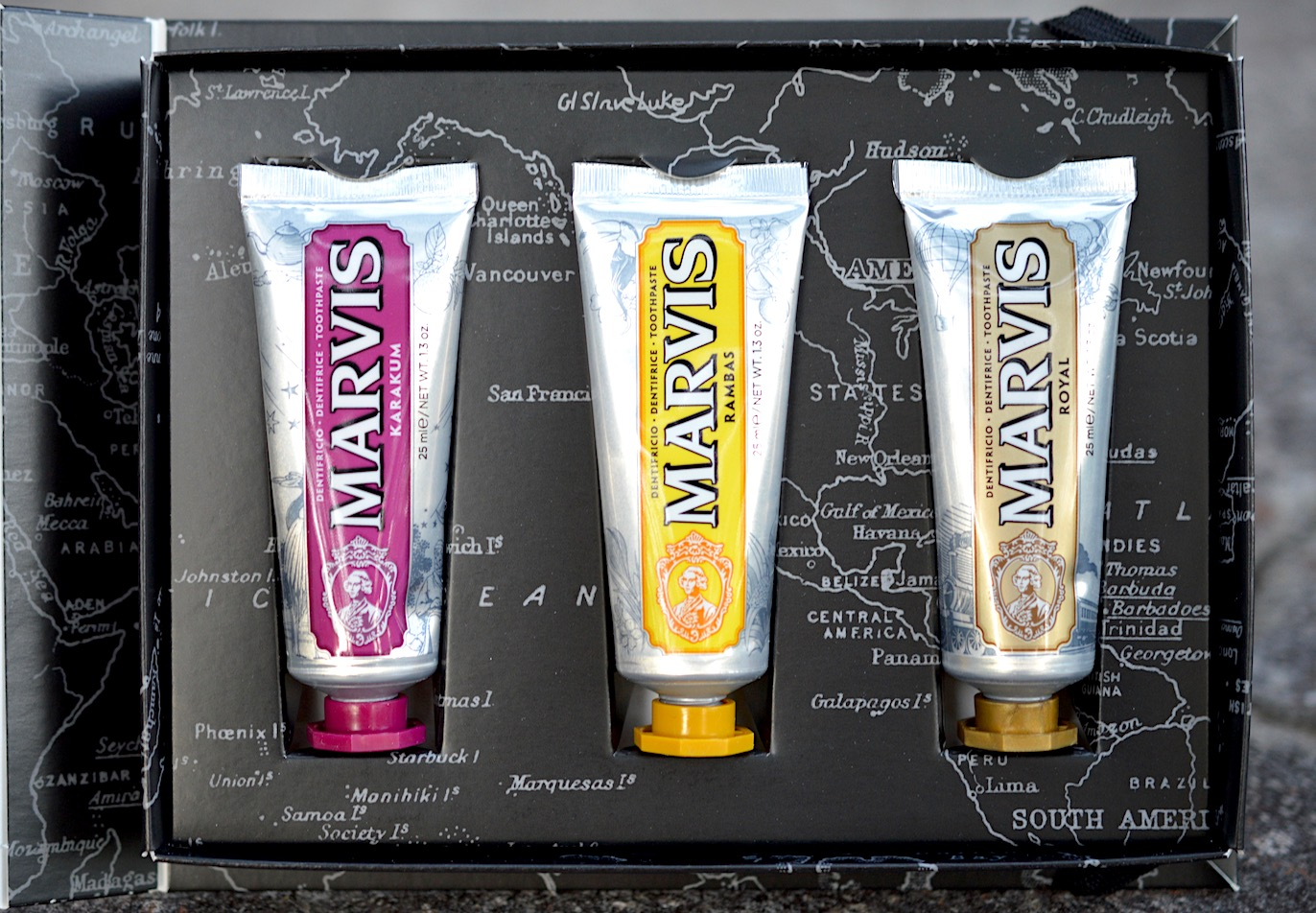 Marvis Wonders Of The World Toothpaste Travel Set