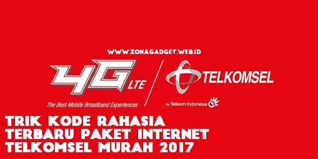 Trik Kode Rahasia Terbaru Paket Internet Telkomsel Murah 2017